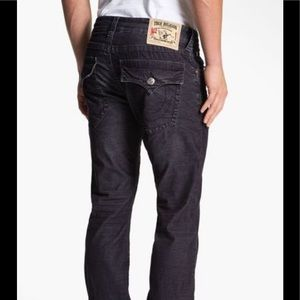 NWOT True Religion Ricky Relaxed Straight Jeans